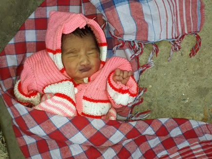 new born girl