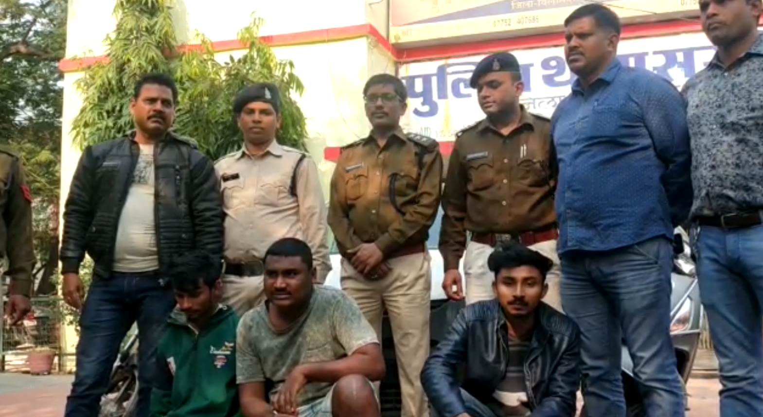 Rape accused arrested