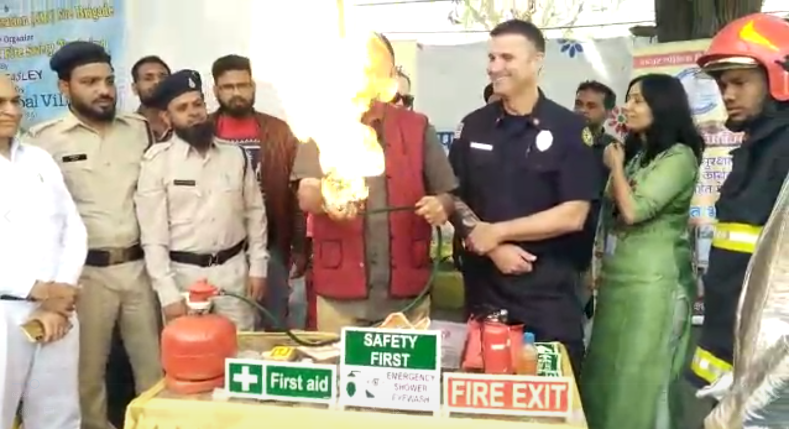 Fire protection program