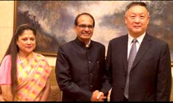shivraj in china